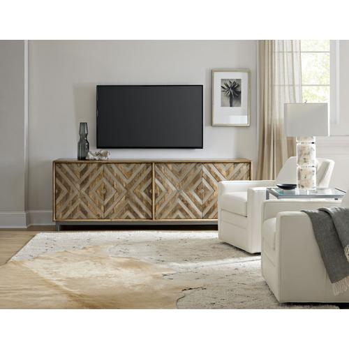 Home Entertainment Four-Door Entertainment Console