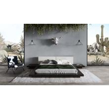 View Product - Modrest Tokyo - Contemporary Black and White Platform Bed