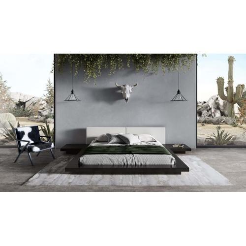 VIG Furniture - Modrest Tokyo - Contemporary Black and White Platform Bed