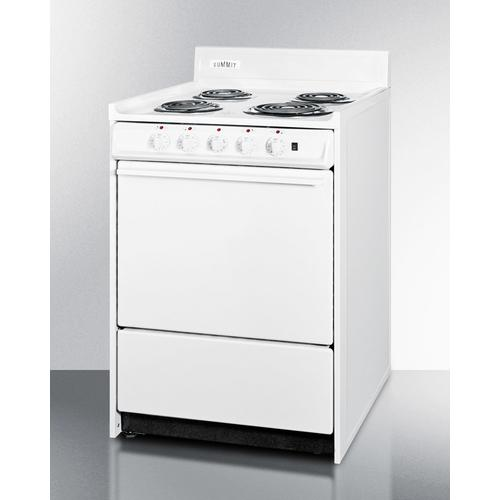 """Summit - 24"""" Wide Electric Coil Top Range"""