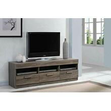 ACME Alvin TV Stand - 91167 - Rustic Oak for Flat Screens TVs up to 60""