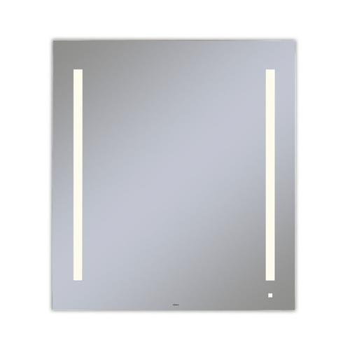 """Aio 35-1/8"""" X 39-1/4"""" X 1-1/2"""" Lighted Mirror With Lum Lighting At 2700 Kelvin Temperature (warm Light), Dimmable, Usb Charging Ports and Om Audio"""