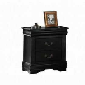 ACME Louis Philippe Nightstand - 23733 - Black