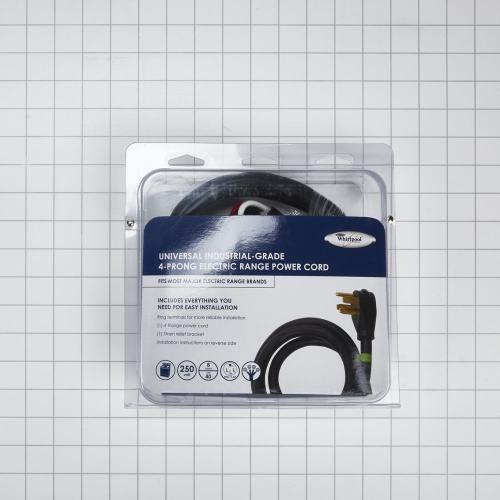 4-Wire Range Power Cord