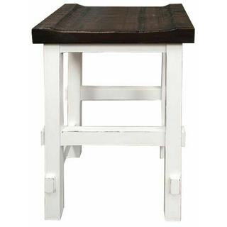 """See Details - White/15w Top 24"""" Stool"""