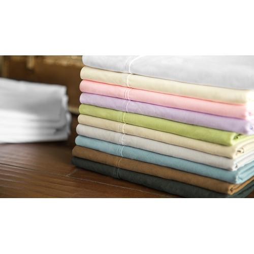Brushed Microfiber Short Queen White