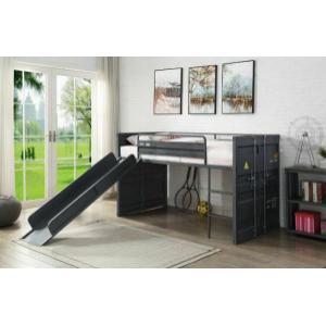 ACME Twin Loft Bed w/Slide - 38305