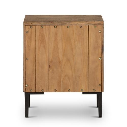 Rustic Sandalwood Finish Wyeth Nightstand