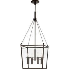 View Product - Barbara Barry Cochere 4 Light 15 inch Bronze Lantern Pendant Ceiling Light, Medium