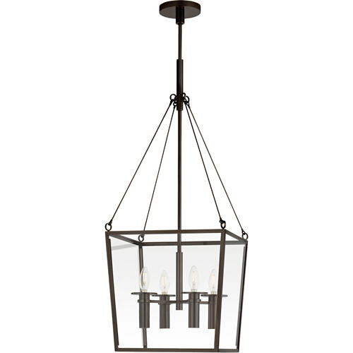 Barbara Barry Cochere 4 Light 15 inch Bronze Lantern Pendant Ceiling Light, Medium