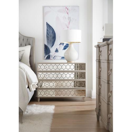 Bedroom Reverie Mirrored Bachelors Chest