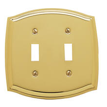 See Details - Polished Brass Colonial Double Toggle