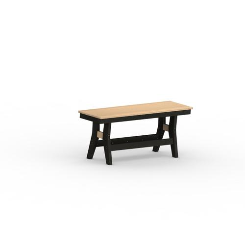 "Harbor 44"" Dining bench - Counter"