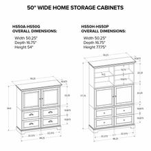 HS50D Custom Home Storage Cabinet