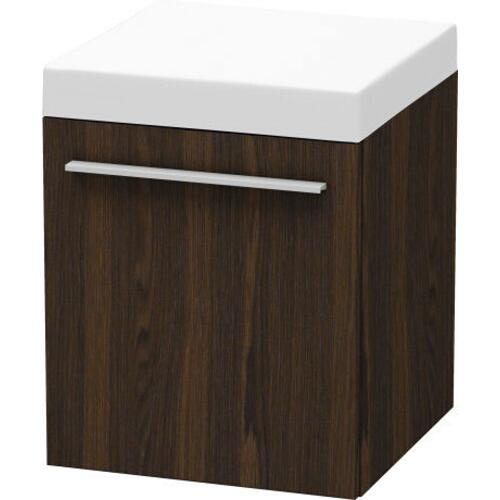 Duravit - Mobile Storage Unit, Brushed Walnut (real Wood Veneer)