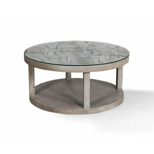 CROSSINGS SERENGETI Round Cocktail Table