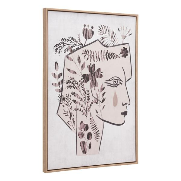 See Details - Mujer Canvas Wall Art Multicolor