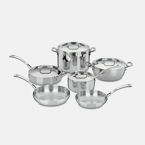 View Product - French Classic Tri-Ply Stainless Cookware 10 Piece Set