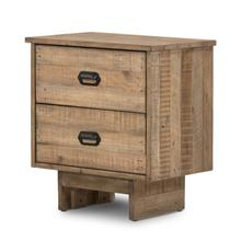 View Product - Sierra Rustic Natural Finish Baxter Nightstand
