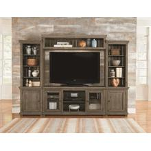 See Details - Wall Unit - Weathered Gray Finish