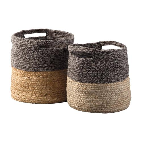 Parrish Basket Set Natural/Black