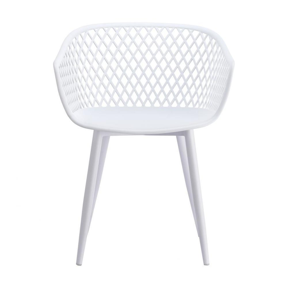 See Details - Piazza Outdoor Chair White-m2