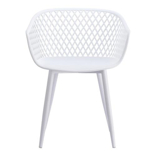 Moe's Home Collection - Piazza Outdoor Chair White-m2