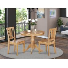 3 Pc Kitchen Table-small Table and 2 Kitchen Chairs
