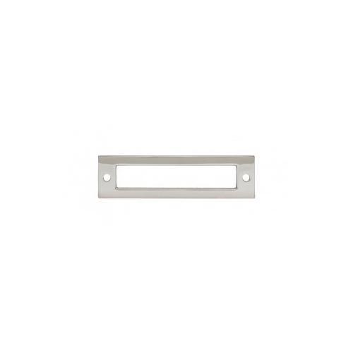 Hollin Backplate 3 3/4 Inch - Polished Nickel