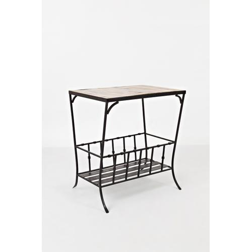 Jofran - Global Archive Storage Chairside Table