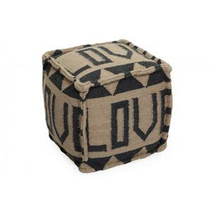 Love Recycled Pouf