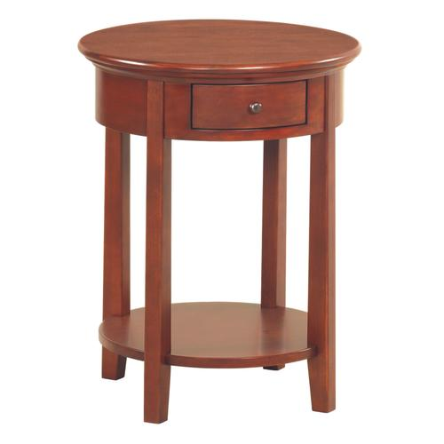 "GAC McKenzie Round Side Table (19-1/2""D)"