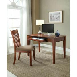 ACME Venetia 2Pc Pack Desk & Chair - 92209 - Oak Finish