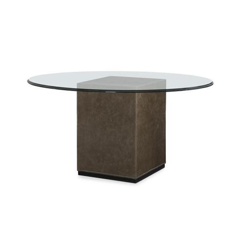 Upholstered Dining Table Base for Glass Tops
