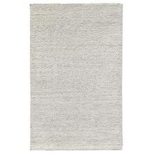 Heathered Wool Ivory 2x3