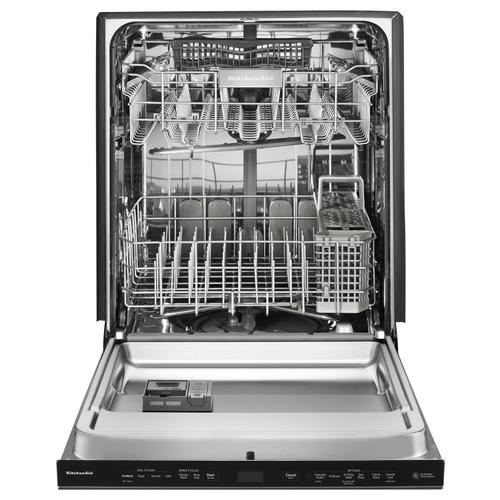 44 DBA Dishwashers with Clean Water Wash System and PrintShield Finish, Pocket Handle Stainless Steel with PrintShield™ Finish