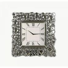 ACME Kachina Wall Clock - 97612 - Mirrored & Faux Gems
