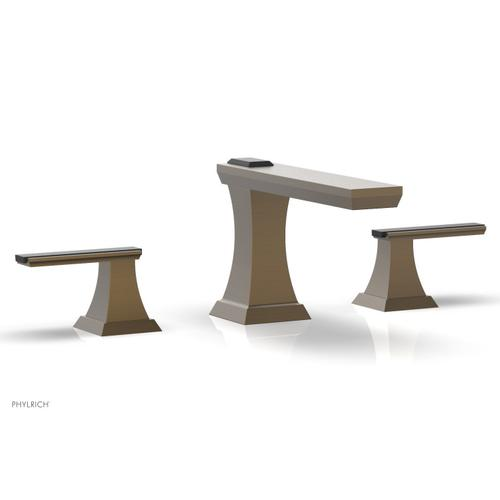 WAVELAND Widespread Faucet - Old English Brass