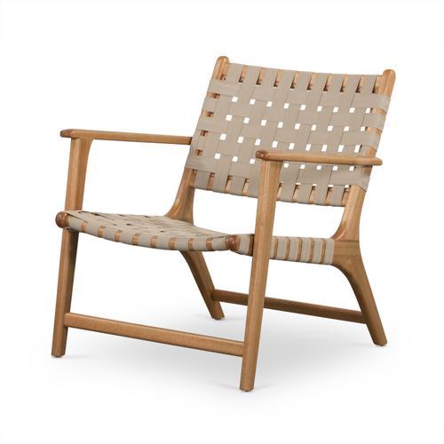 Jevon Outdoor Chair Auburn Eucalyptus, Four Hands Home Outdoor Furniture