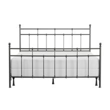 See Details - Providence Metal King Bed, Aged Pewter