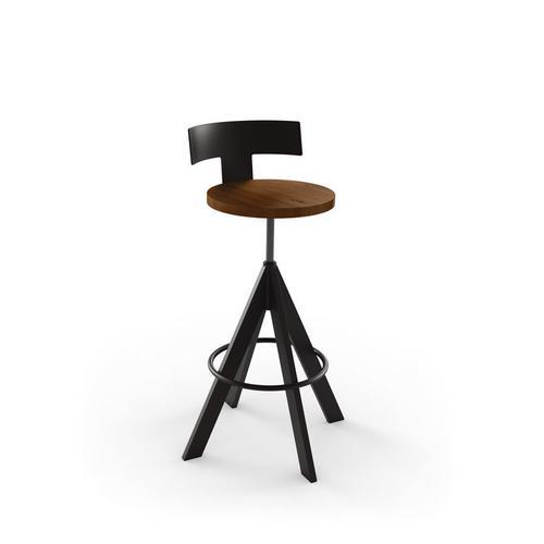 Amisco - Uplift Screw Stool (wood)