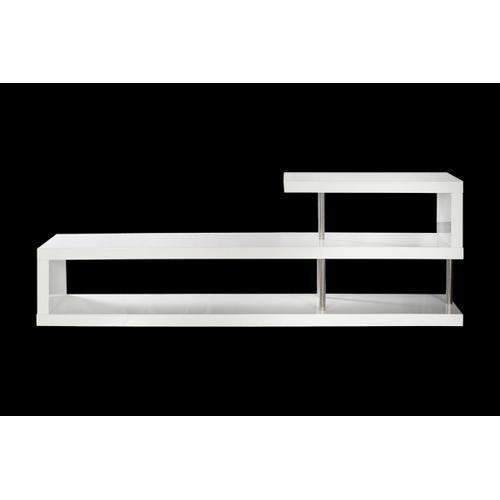 VIG Furniture - Modrest WIN 5 Modern White Lacquer TV Stand
