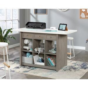 SauderDurable Craft Work Table with Storage