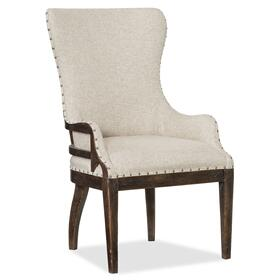 Dining Room Roslyn County Deconstructed Upholstered Host Chair - 2 per carton/price ea
