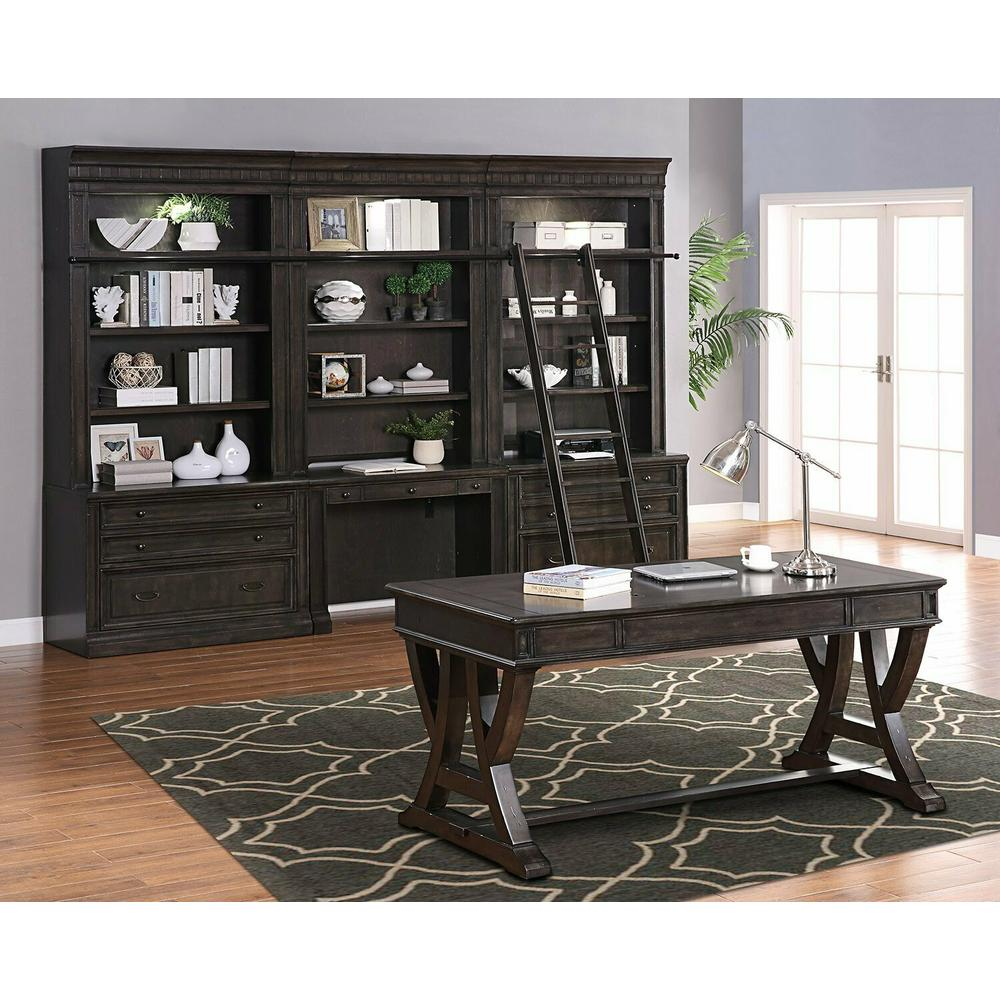 See Details - WASHINGTON HEIGHTS 8pc Library Wall