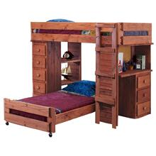 Twin Student Loft Bed w/o Bottom Bed