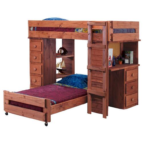 Twin/Twin Student Loft Bed