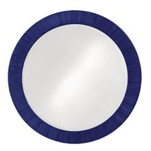 View Product - Serenity Mirror - Glossy Navy