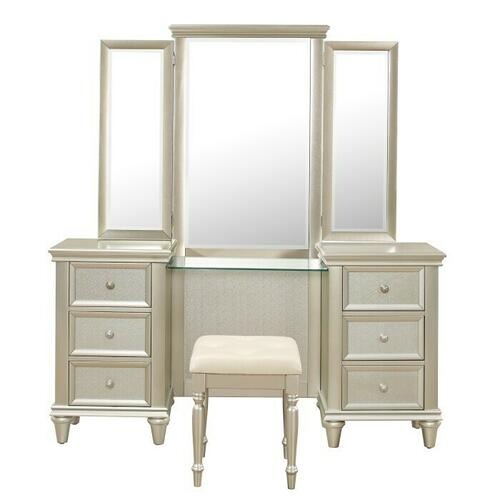 Product Image - Vanity Dresser with Mirror
