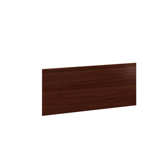 Desk Return Back Panel 6009 in Chocolate Stained Walnut